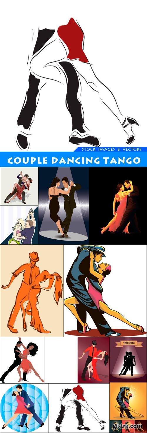 Couple dancing tango 12X JPEG