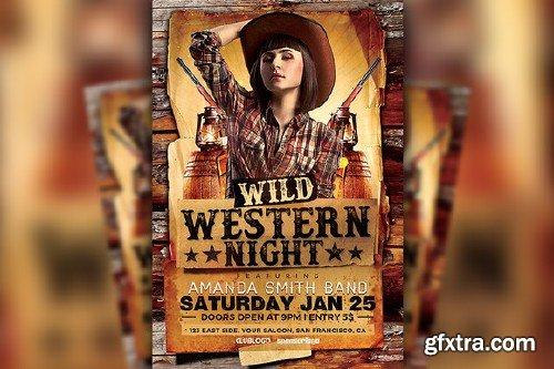 CM - Wild Western Night Flyer 494097