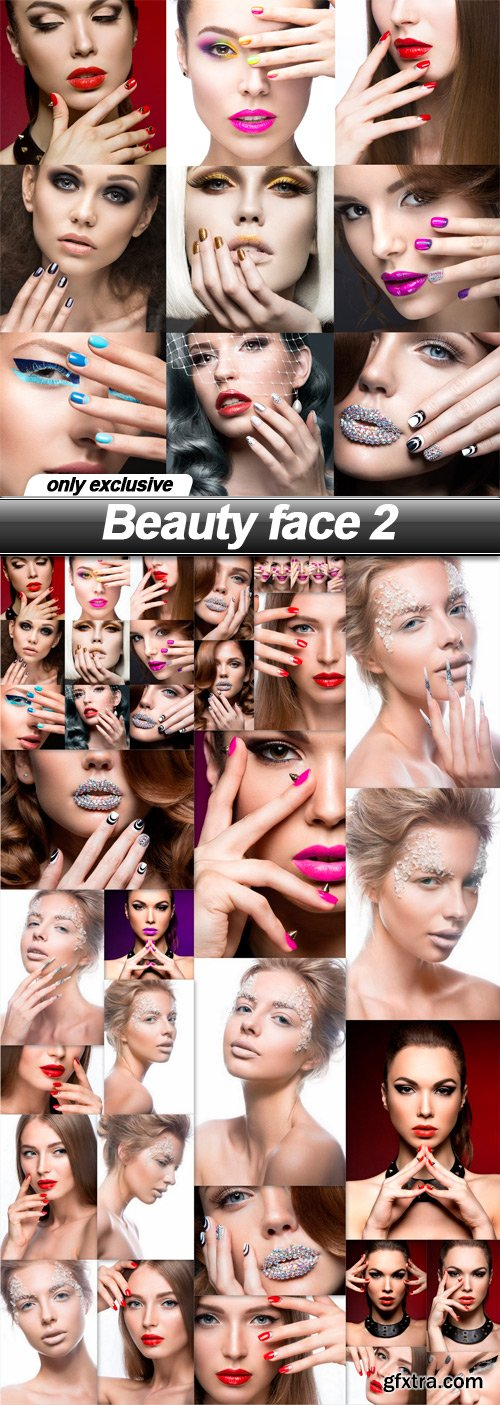 Beauty face 2 - 25 UHQ JPEG