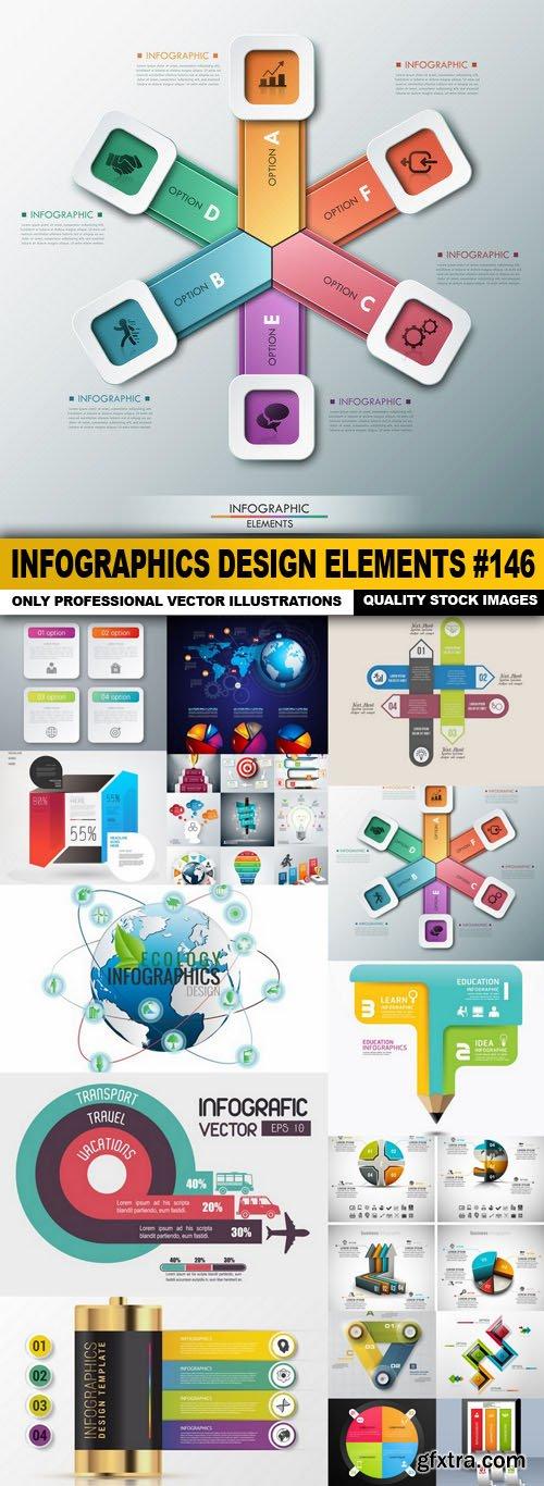 Infographics Design Elements #146 - 15 Vector