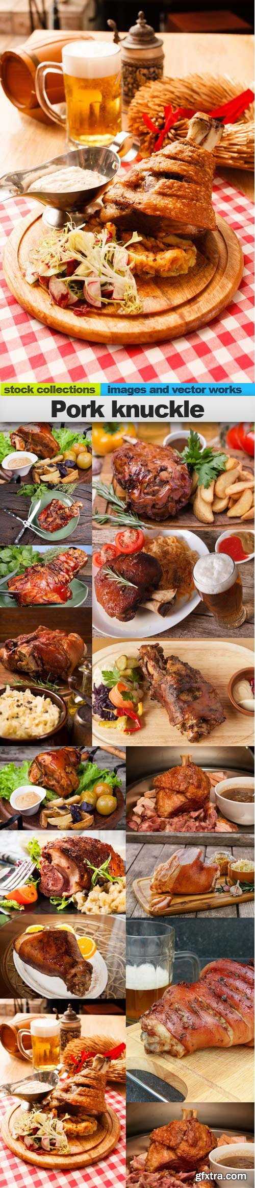 Pork knuckle, 15 x UHQ JPEG