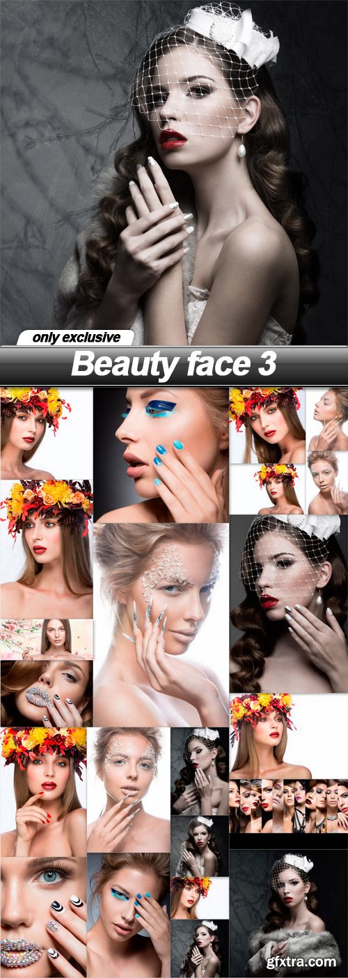 Beauty face 3 - 22 UHQ JPEG