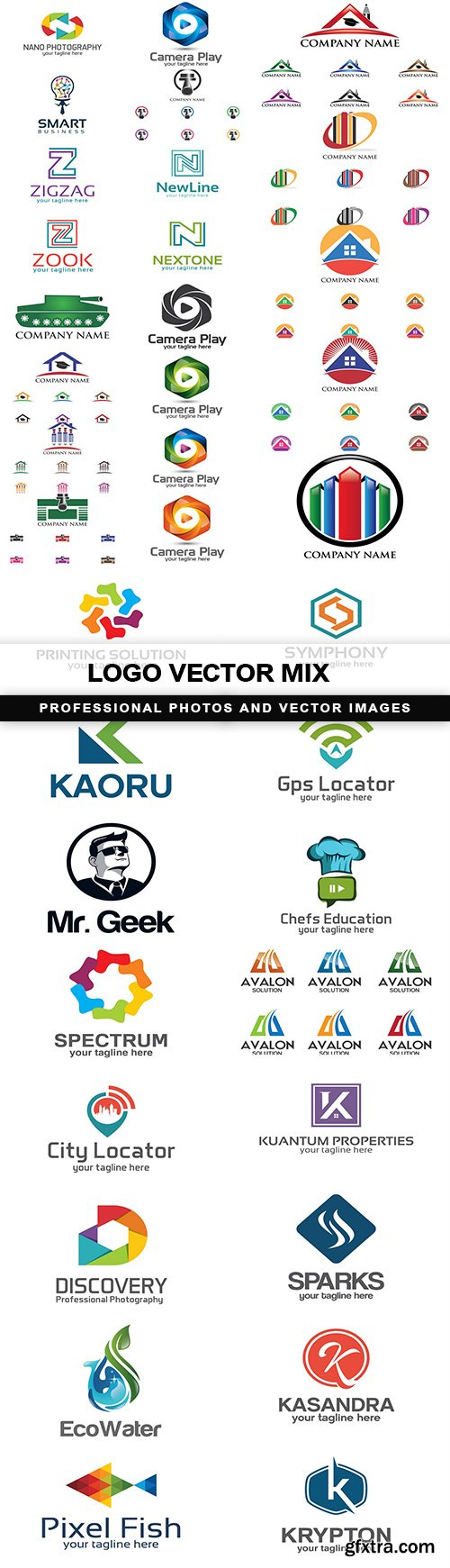 Logo vector mix