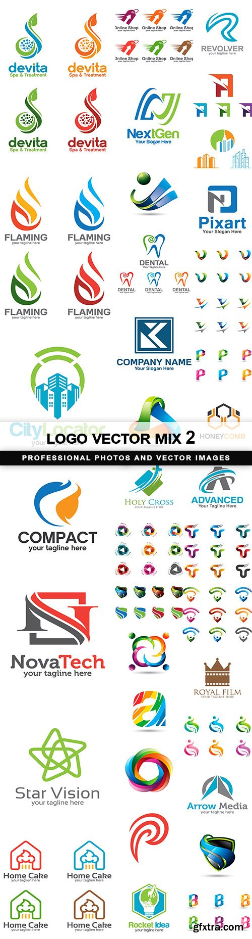 logo vector mix 2