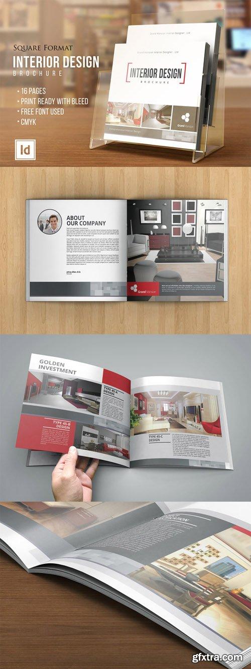 CM - INTERIOR DESIGN Square Brochure 109336