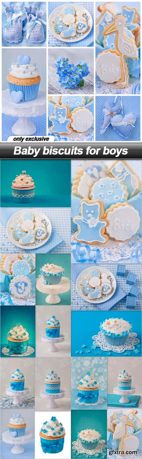Baby biscuits for boys - 18 UHQ JPEG