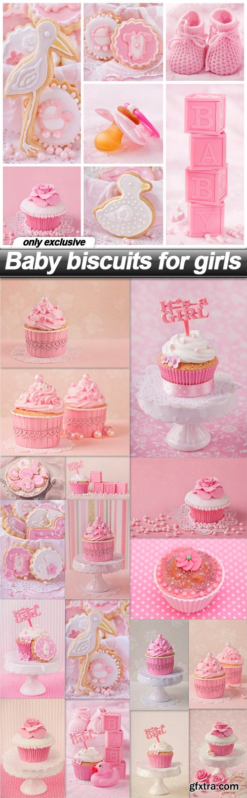 Baby biscuits for girls - 18 UHQ JPEG