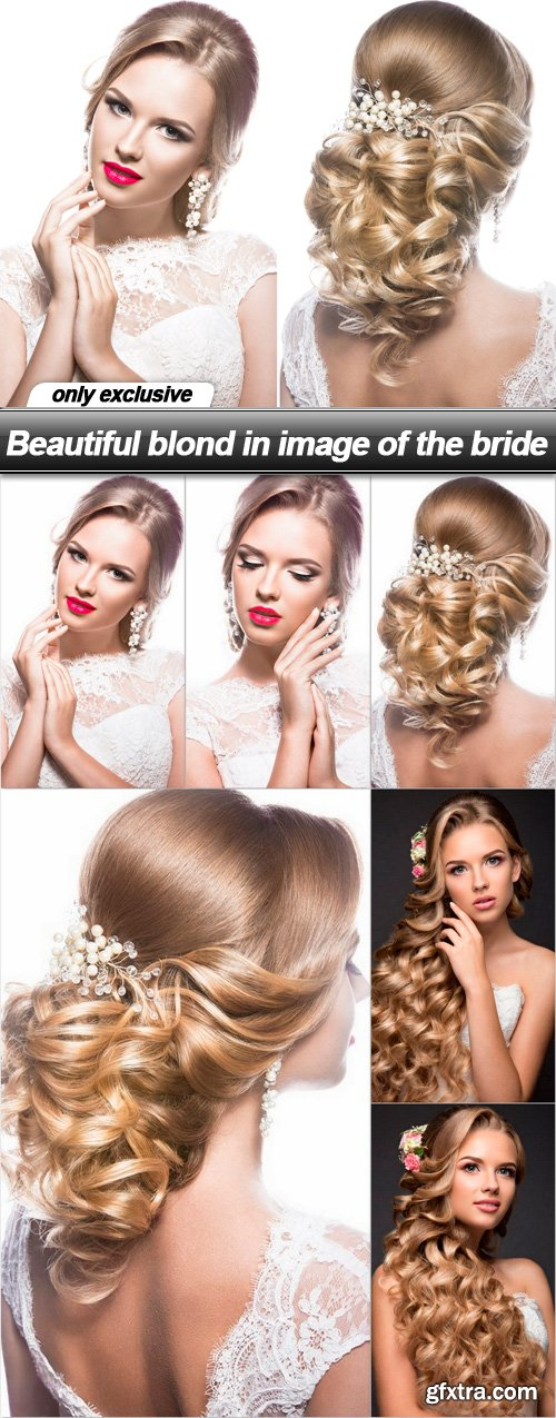 Beautiful blond in image of the bride - 7 UHQ JPEG