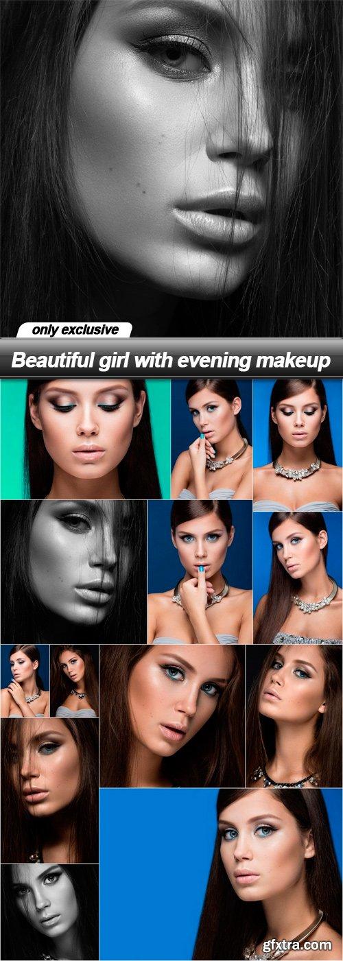 Beautiful girl with evening makeup - 13 UHQ JPEG