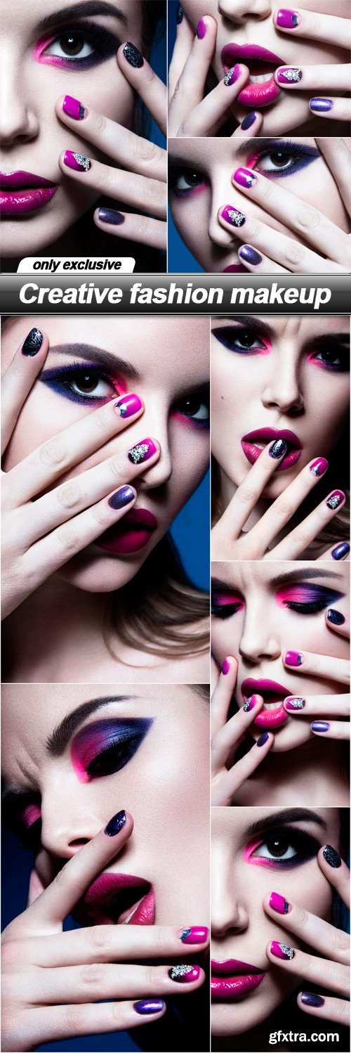 Creative fashion makeup - 6 UHQ JPEG