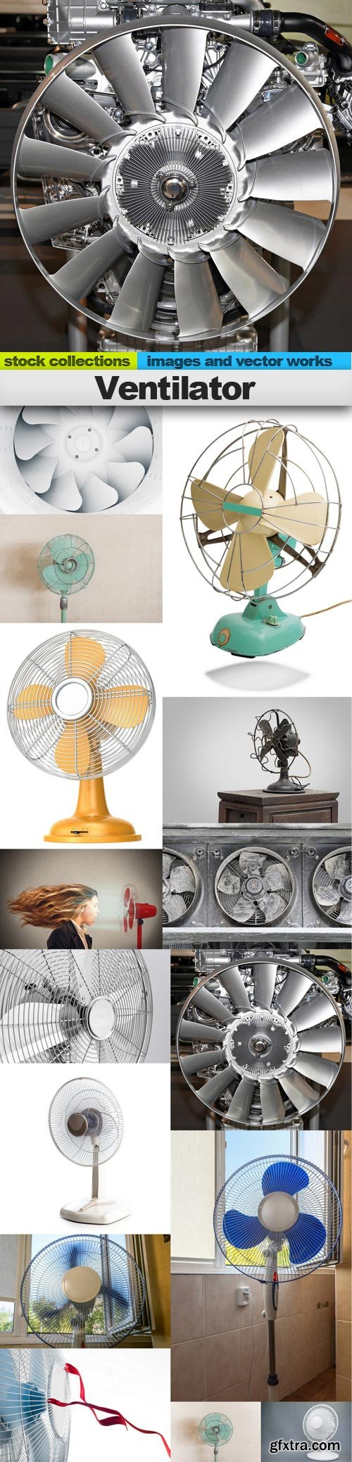 Ventilator, 15 x UHQ JPEG