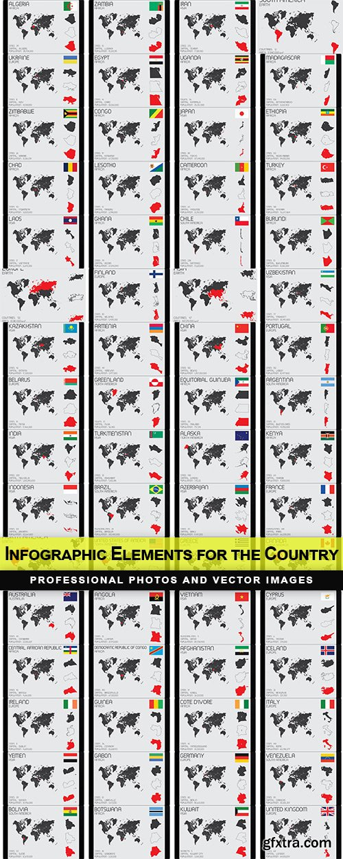 Infographic Elements for the Country