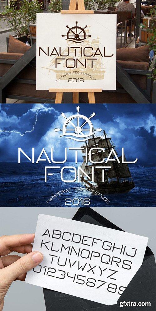 CM - Nautical Typeface 499247