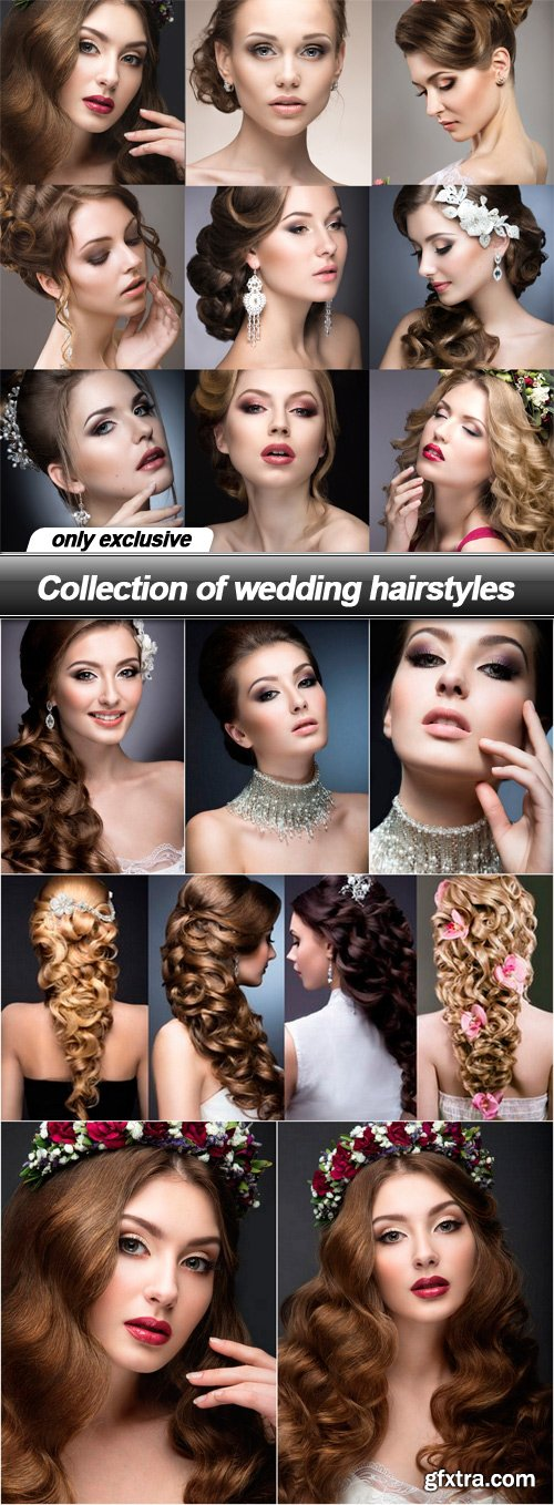 Collection of wedding hairstyles - 7 UHQ JPEG