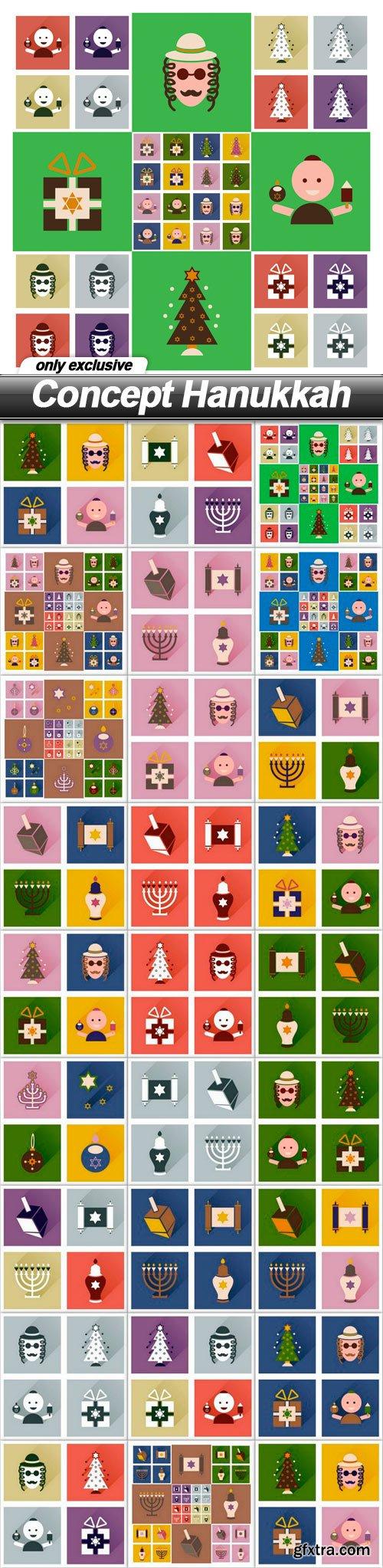 Concept Hanukkah - 26 EPS