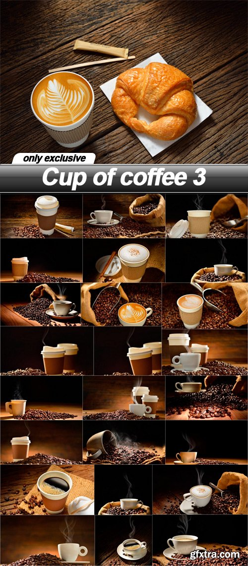 Cup of coffee 3 - 25 UHQ JPEG