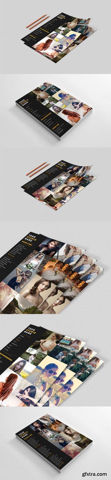 CM - Photography Price List Flyer 499973