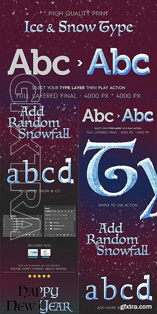 GraphicRiver - Ice & Snow Type Effect 14067877