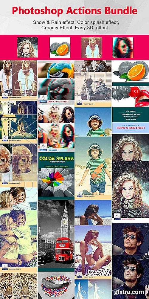 GraphicRiver - Photoshop Actions Bundle 14207451