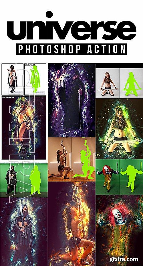 GraphicRiver - Universe Photoshop Action 14380240