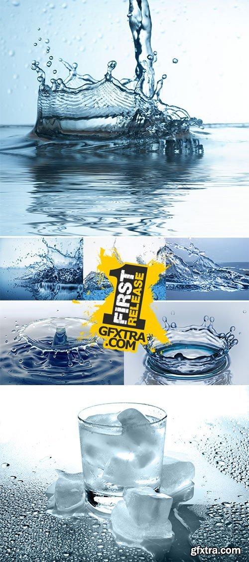 Stock Photo: Water splash 5