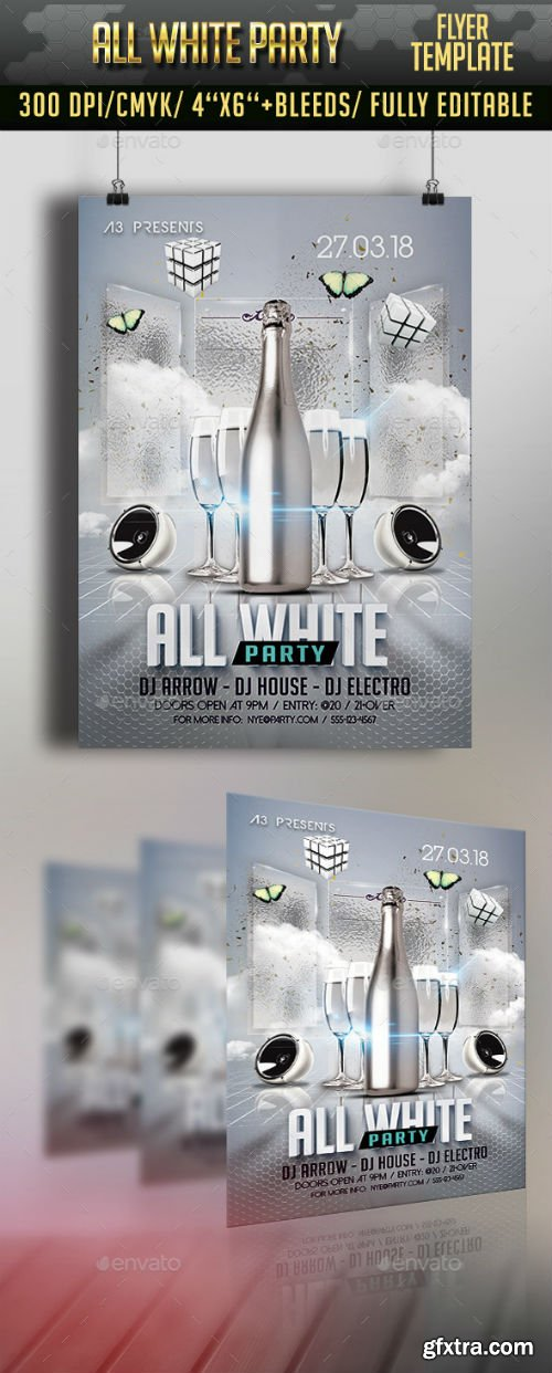 GR - All White Party Flyer 12042001