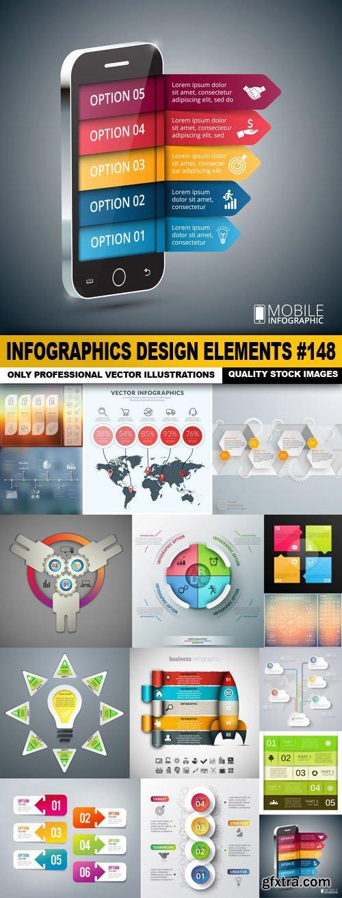 Infographics Design Elements #148 - 15 Vector