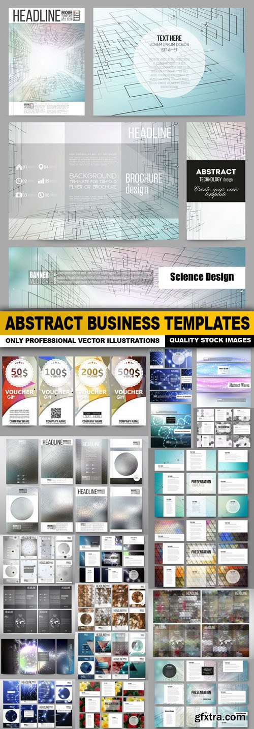 Abstract Business Templates - 20 Vector