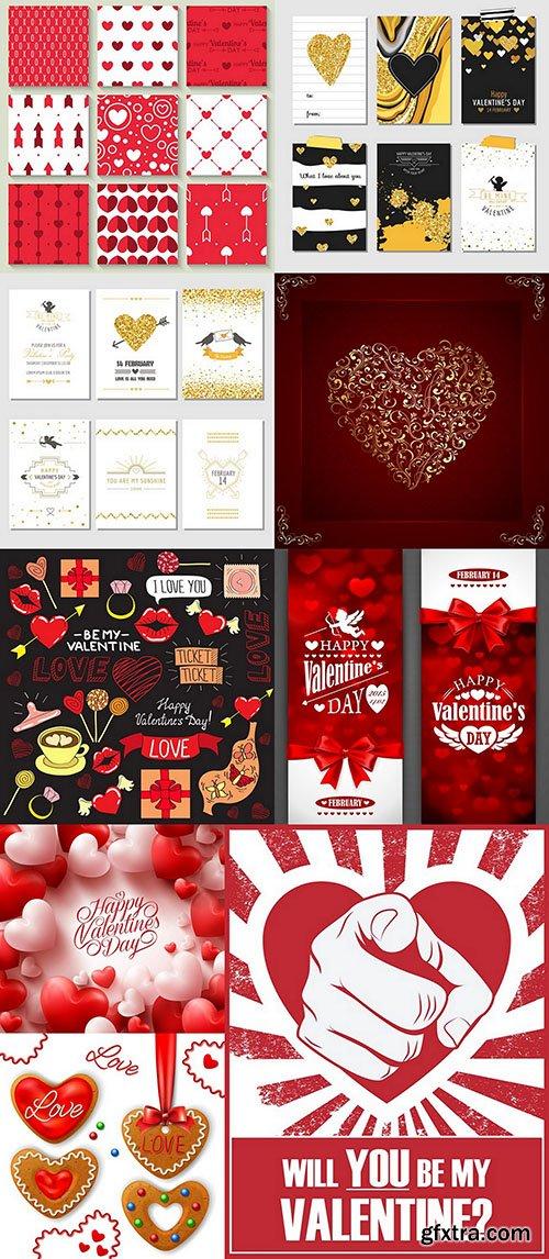 St. Valentine's Day - 12xEPS, AI