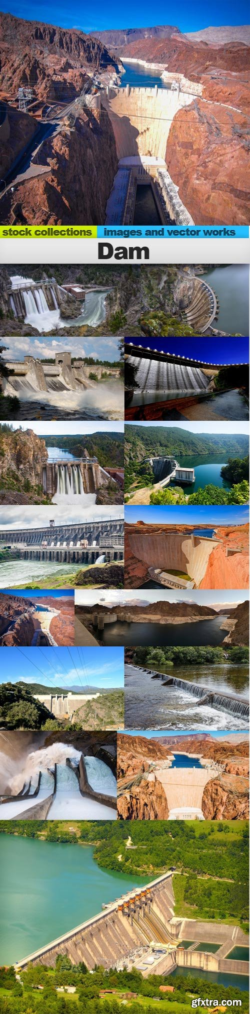 Dam, 15 x UHQ JPEG