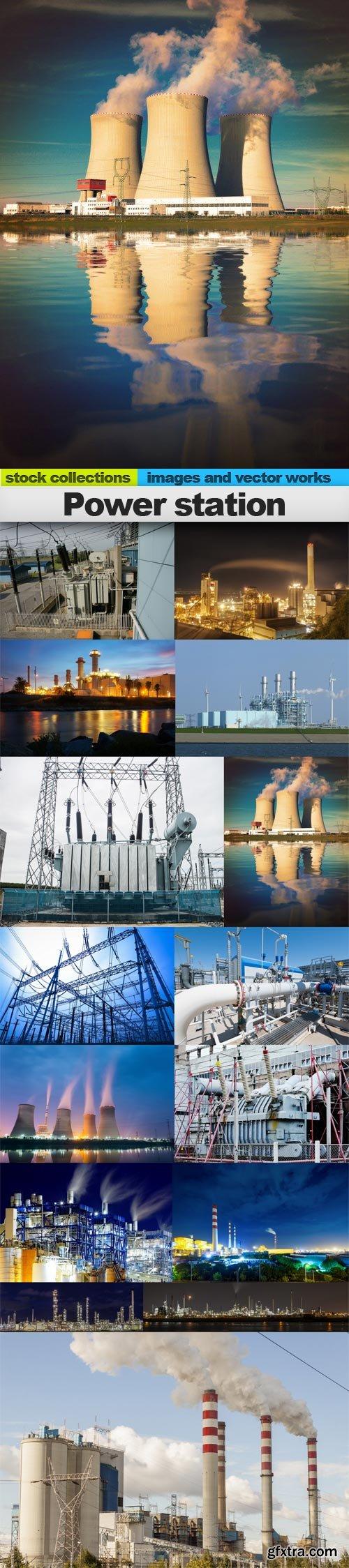 Power station, 15 x UHQ JPEG