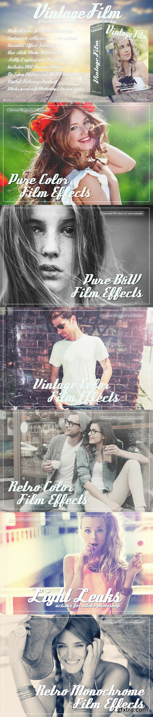 CM - Actions for Photoshop / Vintage Film 499594
