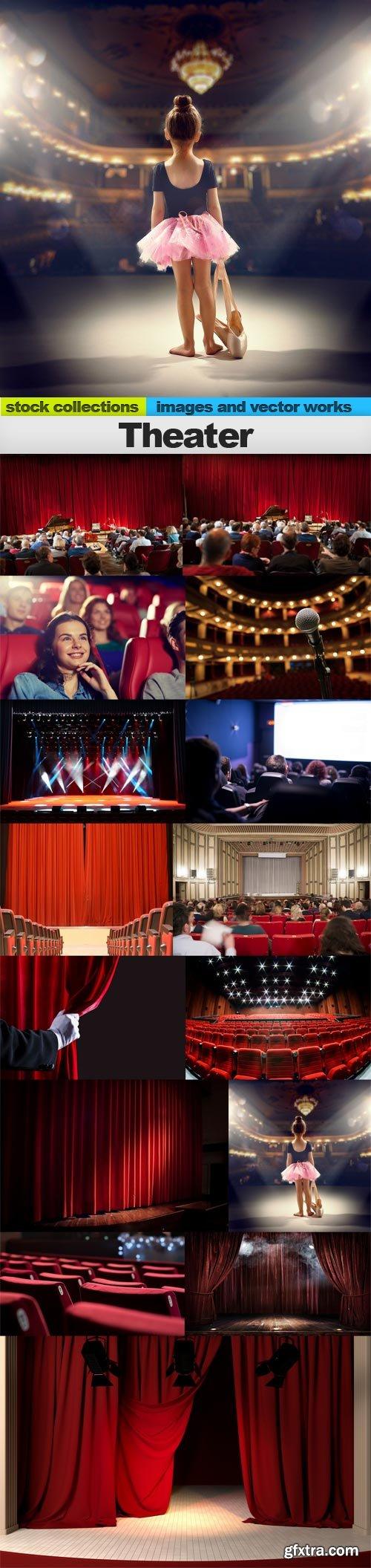 Theater, 15 x UHQ JPEG