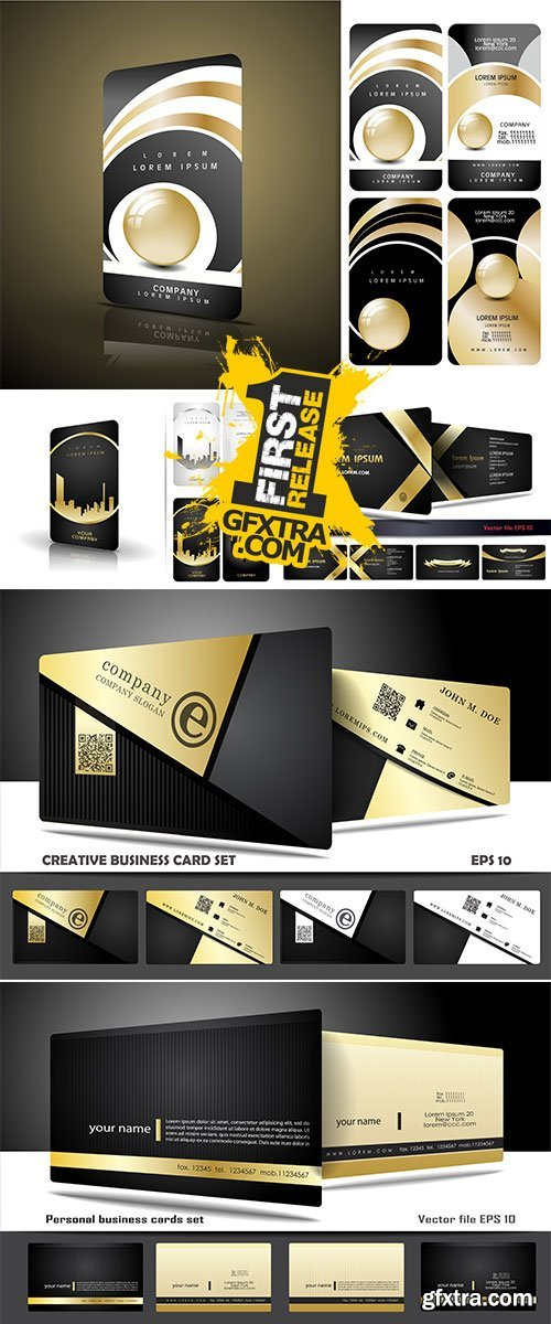Stock: Creative and modern business card design