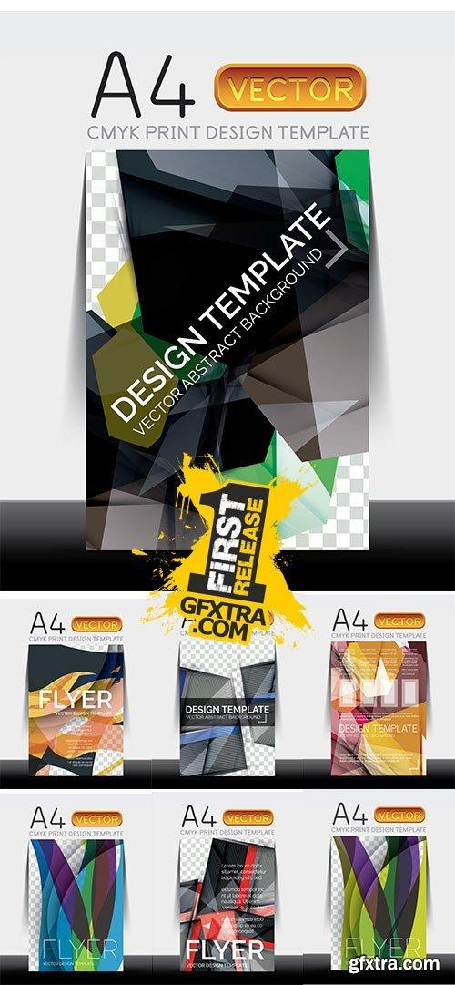 Stock: Vector A4 Modern Flyer Design