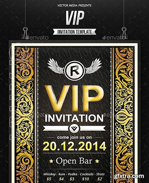 GraphicRiver - VIP - Invitation 8938161