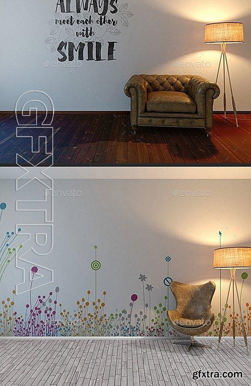 GraphicRiver - Wall Art Mockup 13047249
