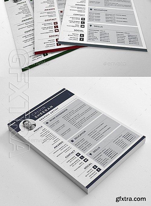 GraphicRiver - Your Resume CV 10507626