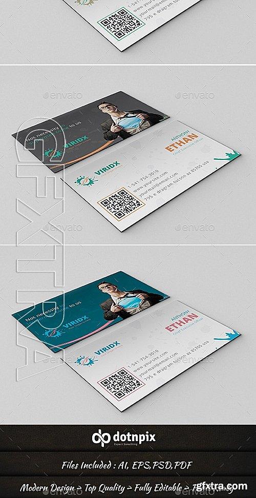 GraphicRiver - Viridx Business Card 10371857