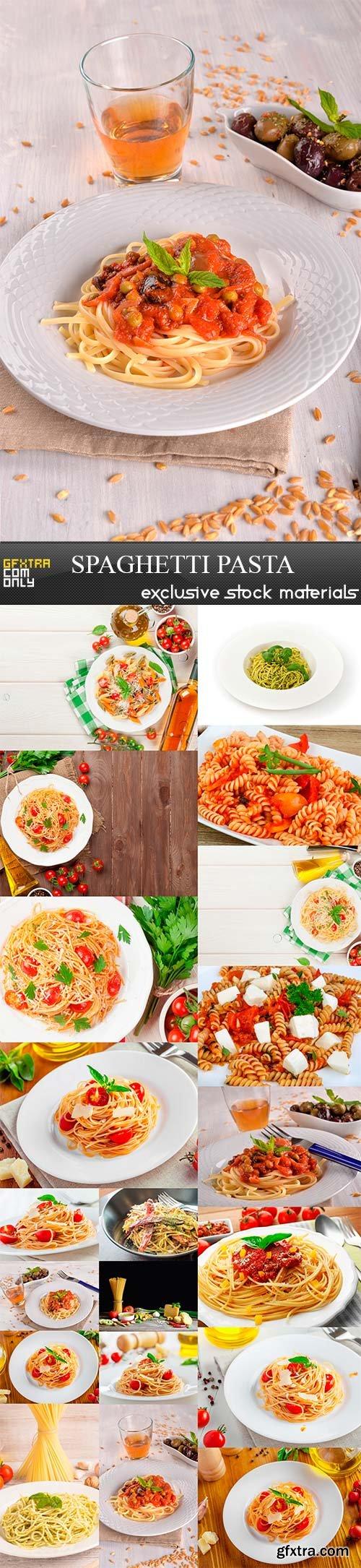 Spaghetti pasta, 20 x UHQ JPEG