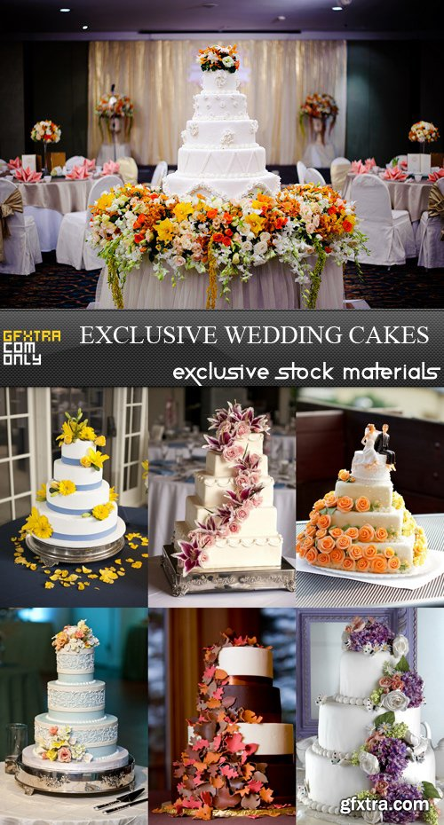 Exclusive Wedding Cakes - 7 UHQ JPEG