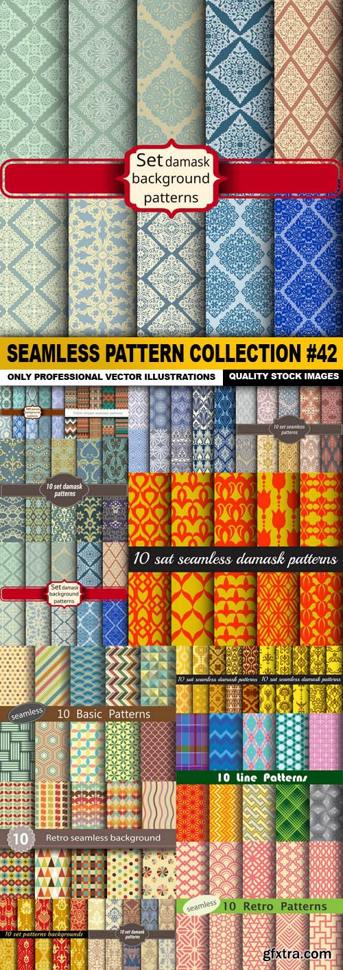 Seamless Pattern Collection #42 - 15 Vector