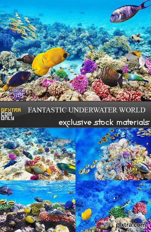 Fantastic Underwater World - 5 UHQ JPEG