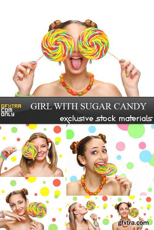 Girl with Sugar Candy - 6 UHQ JPEG