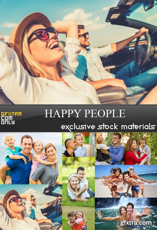 Happy People - 8 UHQ JPEG