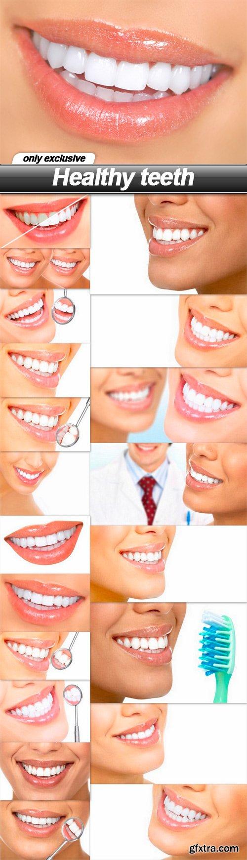 Healthy teeth - 20 UHQ JPEG