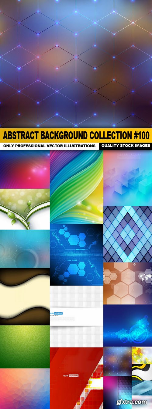 Abstract Background Collection #100 - 20 Vector