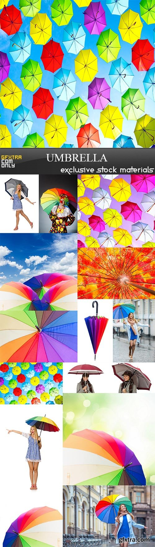 Umbrella, 15 x UHQ JPEG