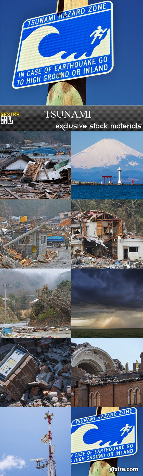 Tsunami - 10 JPEGs