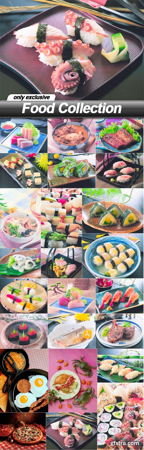 Food Collection - 24 UHQ JPEG